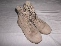 Military Tactical Research Desert Army Combat Hiking Boots Size 10.5 8113 in Huntington Beach, California