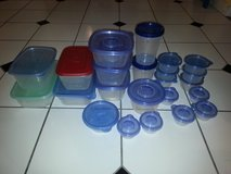 lot of glade-ziploc food containers-bpa free in Wilmington, North Carolina