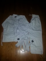 karate uniform-size 8/10- medium in Wilmington, North Carolina