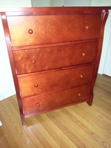 wood cherry chest of drawers in Wilmington, North Carolina
