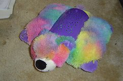 pillow pets dream lites rainbow peace dog works! in Elgin, Illinois
