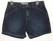 Aarizona dark blue denim jean shorts girls size 12 1/2 plus 12.5 in Morris, Illinois