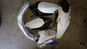 Various Yamaha Dirt bike parts in Vacaville, California