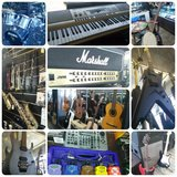 Acoustic Guitar, Electric Guitar, Amp, Bass, Musical Instruments in Camp Pendleton, California