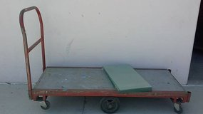 Rolling flat utility cart in Camp Pendleton, California