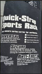 *** Quick-Strap Sports Rack cartop carrier in Pearland, Texas