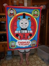 #3 THOMAS TRAIN QUILT 44 X 36 - $15 in Fort Hood, Texas