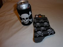 #2, 3 SKULL COOLERS, 1 PAIR OF SKULL SOCKS in Fort Hood, Texas