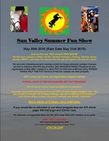 Sun Valley Open Summer Fun HORSE SHOW! May 19th 2018 Rain date May 20th! in Macon, Georgia