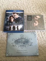 NEW lot of 3 twilight blu ray dvd - sealed cd - collectible photo cards in Houston, Texas