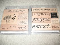 21 like new sets CTMH, stampin up & 25+ loose stamps scrapbooking in Chicago, Illinois
