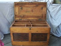 Civil War Era Antique Carpenters Trunk in Vacaville, California