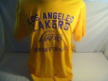 NBA Los Angeles Lakers Shirt Size M Color Yellow 2156 in Huntington Beach, California