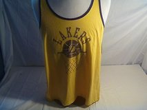 NBA Los Angeles Lakers Sleeveless Shirt Size Large Color Yellow 2151 in Huntington Beach, California