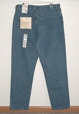 NEW w Tags Faded Glory classic fit stonewash denim jeans womens 14 average 33 x 31 14a in Yorkville, Illinois