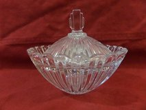 Mikasa Crystal Royal Suite Sugar Bowl & Lid in Kingwood, Texas