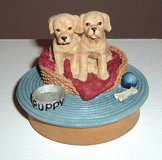Our America Lab Puppy Candle Topper Lid Labrador in Morris, Illinois