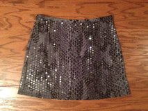 Express Gray Sequined & Snakeskin Miniskirt - sz S in Camp Lejeune, North Carolina