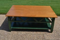 Ethan Allen Country Colors Coffee Table, Solid Maple in Naperville, Illinois