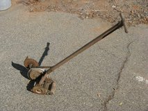 Push Mower Edger c. 1940's in Vista, California