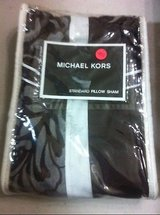 NEW nip michael kors standard pillow sham brown in Kingwood, Texas
