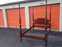 SOLID  Mahogany 4X Poster Bed in Cherry Point, North Carolina