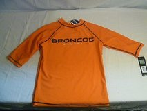 Denver Broncos Tees NFL Apparel UV50 Excellent UV Sunburn Protection, Size 14/16 2268 in Huntington Beach, California