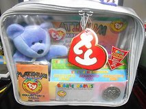 New TY Beanie Babies Official Platinum Membership Kit! Sealed in Unopened Zipper Bag! MINT in Houston, Texas