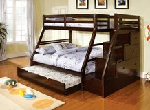 TWIN OVER FULL BUNK BED FREE DELIVERY in Huntington Beach, California