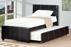 ESPRESSO TRUNDLE BED FREE DELIVERY in Huntington Beach, California