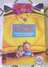 The Meanest Doll in The World ( The Doll People Series Sequel ) Semi-Faux Hard Cover Book in Morris, Illinois