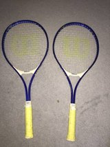 2 Wilson Tennis Rackets and cases in Fort Knox, Kentucky