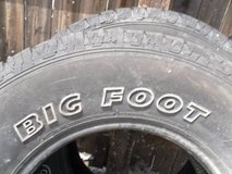 2 Bigfoot 245/75R16 111s A/T MS RS 7009 in Fort Carson, Colorado