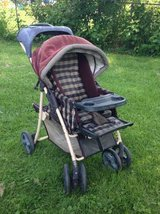 GRACO hard to find deluxe COACH RIDER CHAUFFEUR stroller in Schaumburg, Illinois