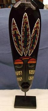 "Stand Up African Mask  $15 ""The Back Forty"", Adel in Moody AFB, Georgia"