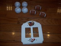 sports light switch plate double rocker style wall plate 3d + dresser pulleys!! in Orland Park, Illinois