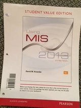Using MIS, 6th Edition in Aurora, Illinois