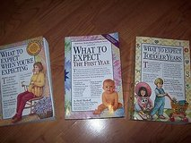 lot of 3: what to expect when you're expecting ~ what to eat ~ first year in Orland Park, Illinois