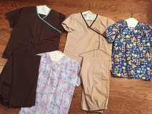 Scrubs: 2 Pairs of Pants and 4 Shirts - sz S in Camp Lejeune, North Carolina