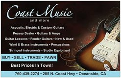 Acoustic Guitar, Electric Guitar, Amp, Bass, Musical Instruments in Oceanside, California