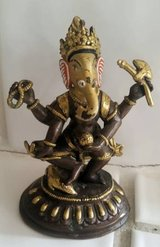 Ganesha - Dakini (3) small brass or bronze figurines .... in Camp Pendleton, California
