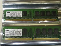 ProMOS 1GB 2 x 512MB DDR2 RAM PC2-4200 Desktop Memory in New Lenox, Illinois