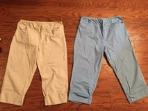 Two Pairs of Maternity Capri Pants - sz L (12/14) in Camp Lejeune, North Carolina