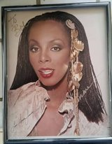 Donna Summers hand signed autographed 8×10 photo in Camp Pendleton, California