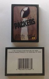 1991 25th Anniversary Green Bay Packers Super Bowl I Cards in Schaumburg, Illinois