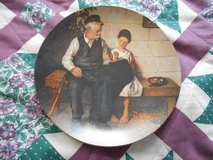 Norman Rockwell plate- The Lighthouse Keepers Daughter in Byron, Georgia
