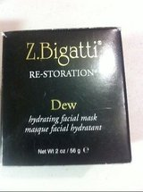 NEW z. bigatti dew hydrating facial mask 2oz anti aging sealed in Kingwood, Texas