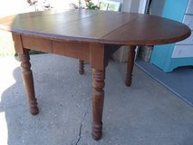 Solid OAK Drop Leaf Table in Shorewood, Illinois