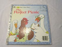 The Perfect Picnic by Betsy Maestro Vintage 1986 The Big Little Golden Book Hard Cover in Morris, Illinois