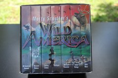 Marty Stouffer's Wild America Complete VHS set in Cherry Point, North Carolina